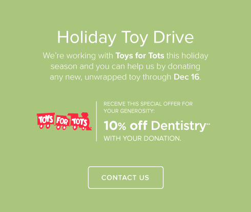 Crestline Dental Group and Orthodontics - Donate Toy Drive